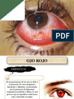 ojo rojo