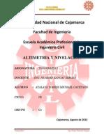 Nivelacion y Altimetriaa