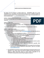 Cop20 Logo Use Authorization Policy