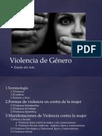 Esquema Del Arte, Violencia de Género