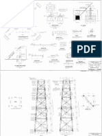Plans for a Forest Service Standard Lookout Tower 52ft Type CT 1