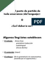 Enseñanza del Ingles en Telesecundaria/Tercera Sesión