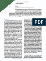 Reduction of Ilmenite With Hydrogen