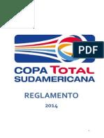 Reglamento Copa Total Sudamericana 2014