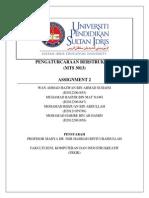 Assignment 2 MTS3013 Pengaturcaraan Berstruktur