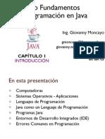 Fundamentos Programación Java - Capitulo1