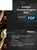Aviation Summer Program 2015