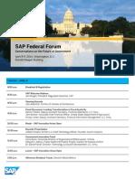FederalForum Agenda
