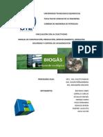 Manual de Operacion de Planta de Biogas