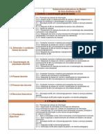 O MODELO DE AUTO-AVALIAÇÃO DA BE METODOLOGIAS DE OPERACIONALIZAÇÃO (CONCLUSÃO)