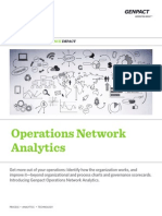 Operations Network Analytics Genpact