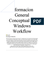 Informacion General Conceptual de Windows Workflow