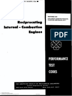 ASME PTC17 Reciprocating Internal Combustion Engines