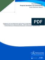 Desarrollo de Un Esquema de Incentivos o Compensaciones Por Servicios Ambientales-golfo de Tribugá-riscales-Informe Final
