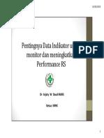 Pentingnya Data Indikator Untuk Monitor & Meningkatkan Performa RS - www.akreditasi.web.id