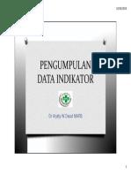 2. Pengumpulan Data Indikator - CD