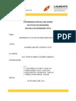 Propiedades de materiales petreos