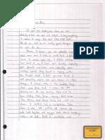 Letter by sister of Mohammed Hamzah Khan