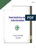 3. Metode Statistik Dasar - CD
