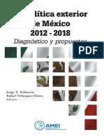 Libro Politica Exterior Mexico 2012 2018