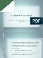 a plethora of hooks