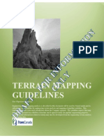 TC Terrain Mapping Guidelines