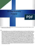 10 day itinerary