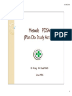 PMKP - Akreditasi RS 2012 - Metode Pdsa