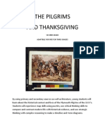 the pilgrims and thanksgiving