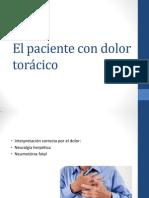 El Paciente Con Dolor Torácico y de La Deglucion