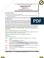 Autocad 2d Module 16 PDF