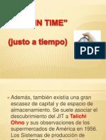 Just in Time Tarea de Admon. de Calidad.