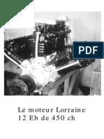 Le Moteur Lorraine 12Eb 450ch