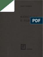 Incardona - Radicalità e filosofia (1968)