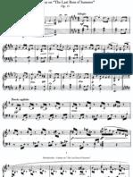 Mendelssohn - Op 15 - Fantasy on The Last Rose of Summer