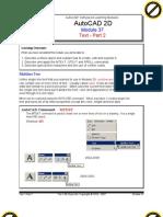 Autocad 2d Module 37 PDF