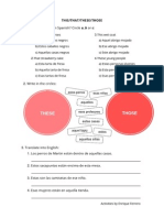 Demostratives Activities 2