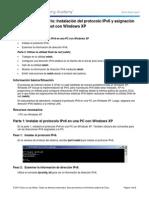 0.0.0.2 Lab - Installing the IPv6 Protocol With Windows XP