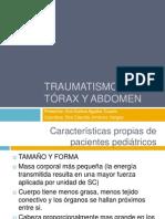 Trauma de Tórax y de Abdomen en Pediatria