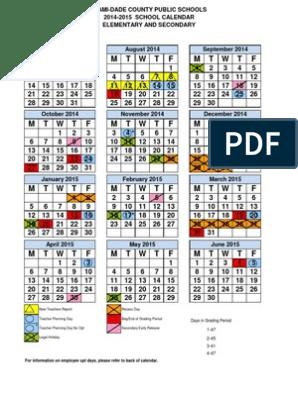 Miami Dade Public Schools Calendar 2022.Dade School Calendar 2014 To 2015 Academic Term Behavior Modification