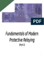 IEEE Seminar - Fundamentals of Modern Protective Relaying - Part1