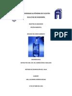 Métodos de Desinfección Del Agua