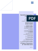 ZF Marine Transmission - Operating Manual