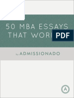 Admissionado_50 MBA Essays That Worked(1)