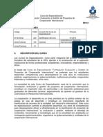 Formulación, Evaluación y Gestión de Proyectos de Cooperación Internacional