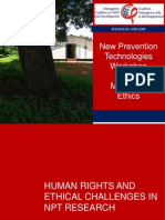 ICAD New prevention technologies workshop