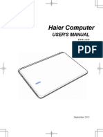 Haier 7g Laptop Manual