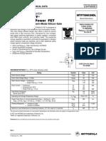 MTP75N03HDL