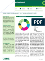 CBRE Los Angeles Retail Marketview Q1 2014