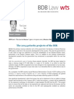 424. the 2014 Priority Projects of the BIR RCU 02 06 14